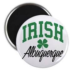 Albuquerque Irish Magnet