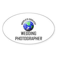World's Coolest WEDDING PHOTOGRAPHER Decal