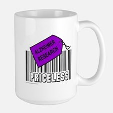 ALZHEIMER CAUSE Large Mug