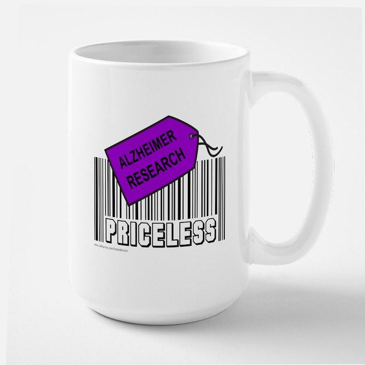 ALZHEIMER CAUSE Large Mug