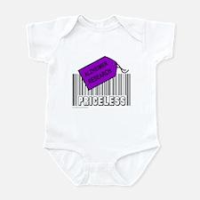 ALZHEIMER CAUSE Infant Bodysuit