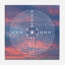 Sunrise Labyrinth II Tile Coaster