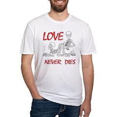 Skeleton Love Never Dies Shirt