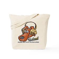 Toehead ~  Tote Bag