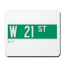 21st Street in NY Mousepad