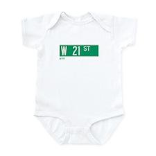 21st Street in NY Infant Bodysuit