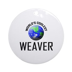 World's Coolest WEAVER Ornament (Round)
