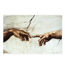 Creation of Man  Postcards (Package of 8)