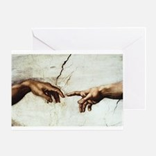 Creation of Man Greeting Card