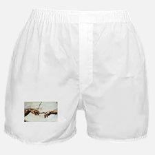 Creation of Man  Boxer Shorts