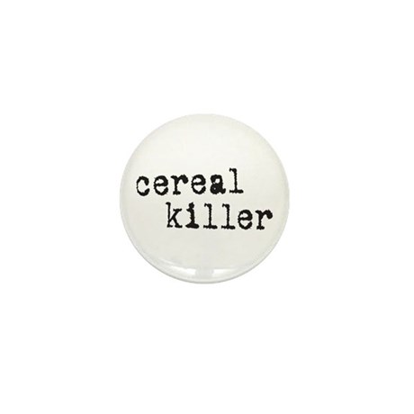 Cereal Killer Mini Button (10 pack)