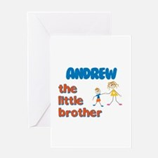Andrew - The Little Brother Greeting Card