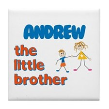 Andrew - The Little Brother Tile Coaster
