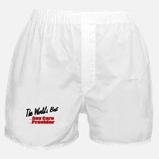 """The World's Best Day Care Provider"" Boxer Shorts"