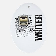 Writer Alchemy Oval Ornament