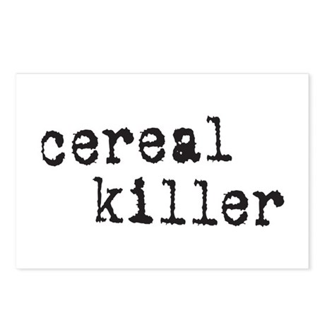 Cereal Killer Postcards (Package of 8)