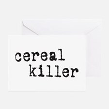 Cereal Killer Greeting Cards (Pk of 10)