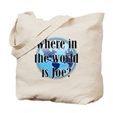 Where In the World Is Joe Tote Bag