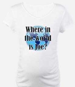 Where In the World Is Joe Shirt