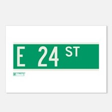 24th Street in NY Postcards (Package of 8)