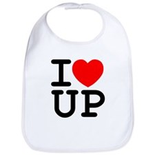 I Love UP Bib