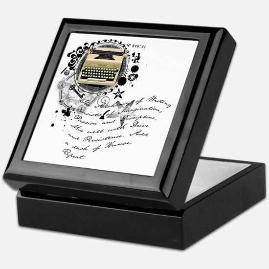 The Alchemy of Writing Keepsake Box