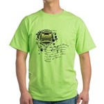 The Alchemy of Writing Green T-Shirt