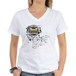The Alchemy of Writing Women's V-Neck T-Shirt