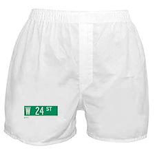 24th Street in NY Boxer Shorts