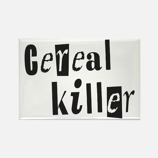 Cereal Killer Rectangle Magnet