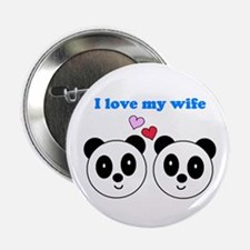 "I LOVE MY WIFE 2.25"" Button"