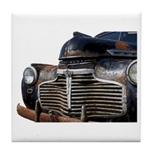 Vintage Rusted Car Tile Coaster