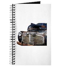 Vintage Rusted Car Journal