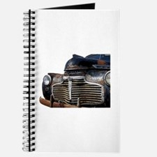 Vintage Rusted Car Journal