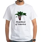 Heartbeet of America White T-Shirt