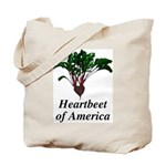 Heartbeet of America Tote Bag