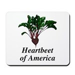 Heartbeet of America Mousepad