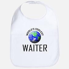 World's Coolest WAITER Bib