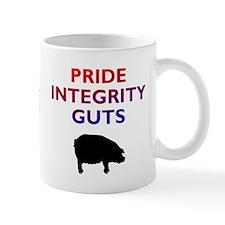 """Red and Blue """"PIG"""" Mug"""