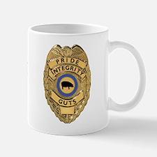"""""""PIG"""" Police Badge Mug"""