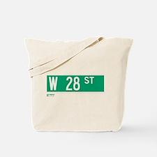 28th Street in NY Tote Bag