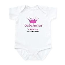 Uzbekistani Princess Infant Bodysuit