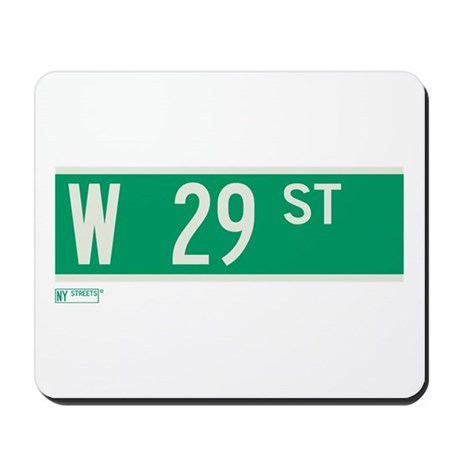 29th Street in NY Mousepad