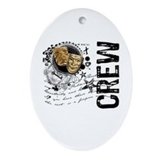 Stage Crew Alchemy Oval Ornament