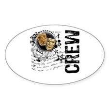 Stage Crew Alchemy Oval Decal