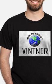 World's Coolest VINTNER T-Shirt