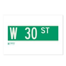 30th Street in NY Postcards (Package of 8)