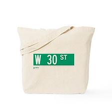 30th Street in NY Tote Bag
