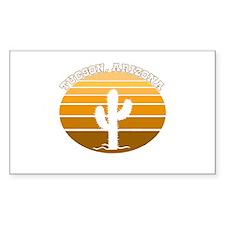 Tucson, Arizona Rectangle Decal