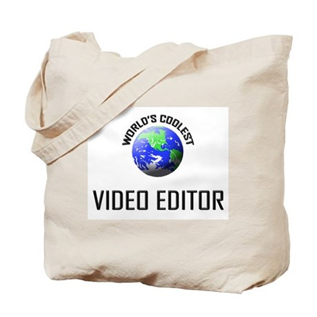 World's Coolest VIDEO EDITOR Tote Bag